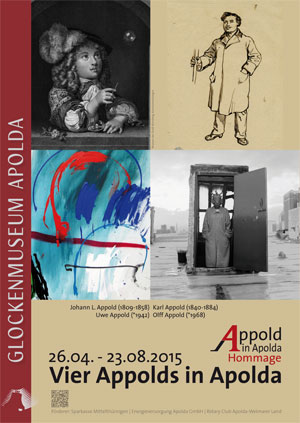 4 Appolds in Apolda - Hommage 26.04.-23.08.2015